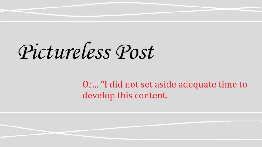 Pictureless